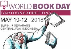 Pameran Kartun Internasional di SMP Negeri 17 Semarang