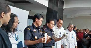 Jumpa pers ungkap kasus peredaran narkotika Thailand-Indonesia di kantor Bea Cukai Semarang, Selasa, 3 Juli 2018.