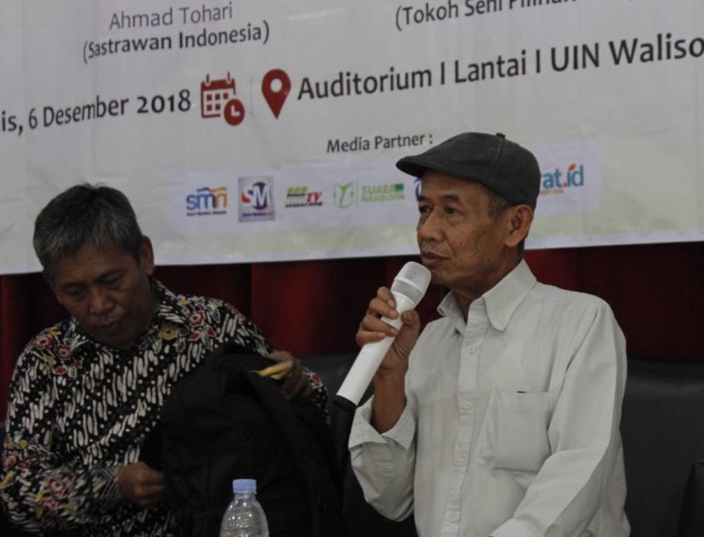 Ahmad Tohari, Sastra, UIN Walisongo, SKM Amanat