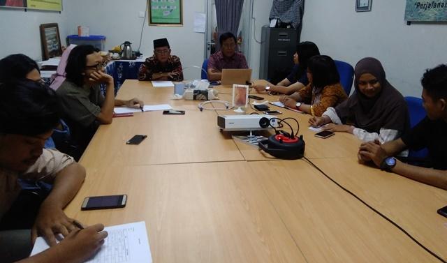 Tim ad hoc yang dibentuk Dekan Fakultas Ilmu Budaya (FIB) Universitas Diponegoro (Undip) untuk mengungkap kasus dosen mesum. (Foto M Ulil Asshidqi/ Serat.id)
