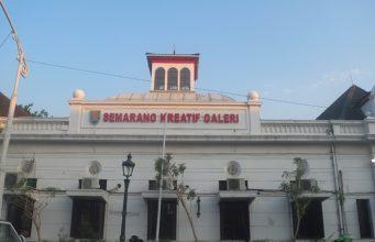 Galeri kreatif Semarang kota lama semarang