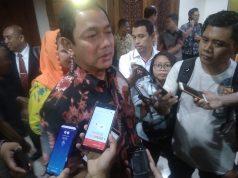 Wali Kota Semarang Henrar Prihadi saat ditemui usai pelantikan di Gedung Moch. Ichsan, Balaikota Semarang, Jumat, 5 Juli 2019. (Ulil/ Serat.id)