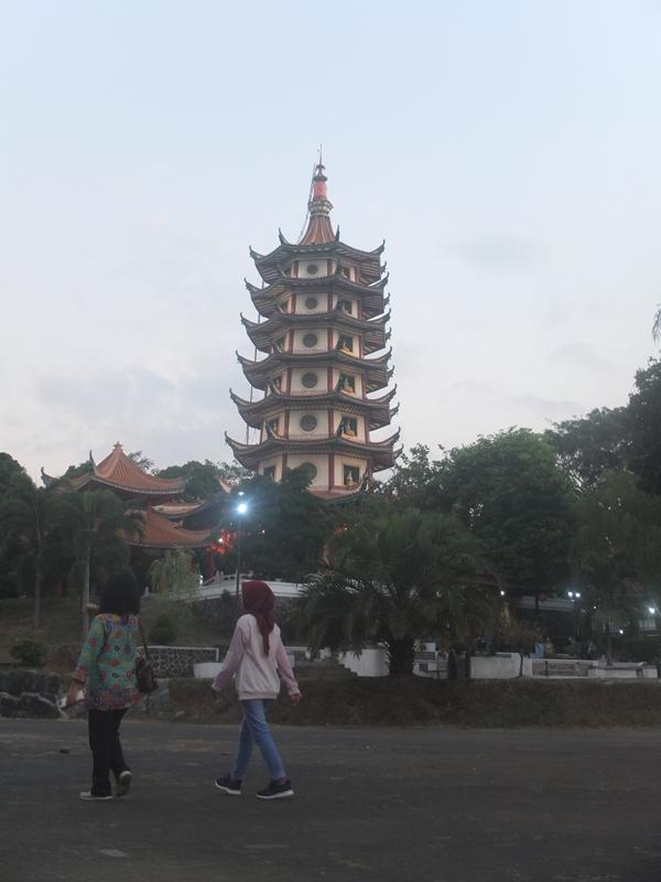 Vihara Buddhagaya Watugong. (Dimitri Janitra/ magang)