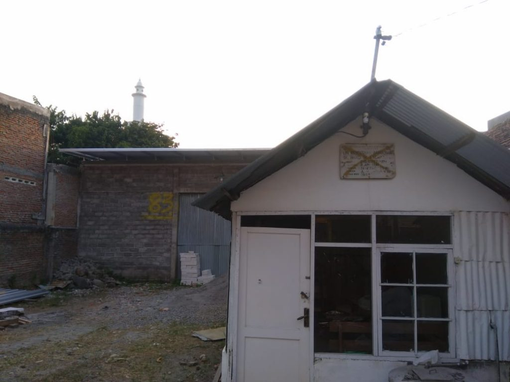 Lokasi rencana pendirian Gereja Baptis Indonesia (GBI) Tlogosari di Jalan   Malangsari Raya Nomor 83, Rt 6 RW VII, Kelurahan Tlogosari Kulon, Kecamatan Pedurungan, Semarang Timur. (Ulil/Serat.id)